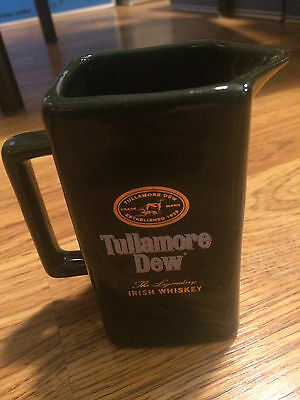 Tullamore Dew The Legendary Irish Whiskey Pitcher - New