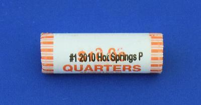 2010 P  ATB Hot Springs National Park Uncirculated Quarters Roll ( 40 coins )