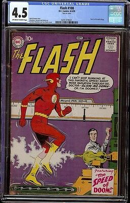 Flash # 108 CGC 4.5 Off-White to White (DC, 1959) 3rd appearance Gorilla Grodd