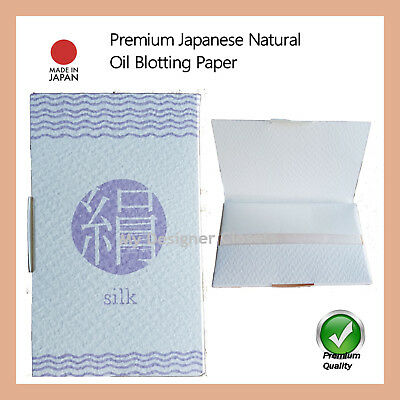 Premium Japanese Natural Oil Blotting Control Paper  Film 100s (Made in Japan)