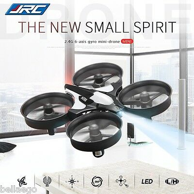 JJRC H36 Mini RC Quadcopter 2.4GHz 4CH 6 Axis Gyro Headless Speed Switch UFO