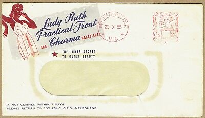 Australia 1953-55 Clothing /Lingerie set of advertising covers (4) very 'fifties
