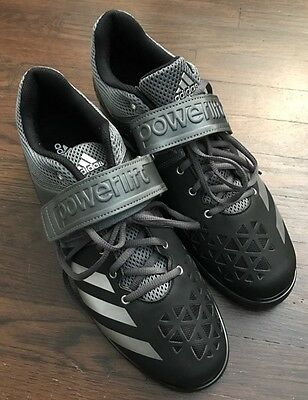 Adidas Men's Weightlifting Powerlift.3 Shoes - Black/gray - Size: 12