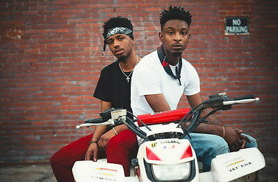 "MX20248 21 Savage - American Hip Hop Trap Music Star 21""x14"" Poster"