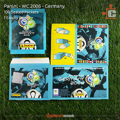 Panini - WC 2006 Germany - Stickers - 50 Packets