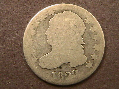 1823 Capped Bust Dime Very Nice Early Date Coin! Free Shiping!