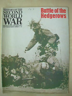 HISTORY OF THE SECOND WORLD WAR VOL 5 No 5 BATTLE OF THE HEDGEROWS