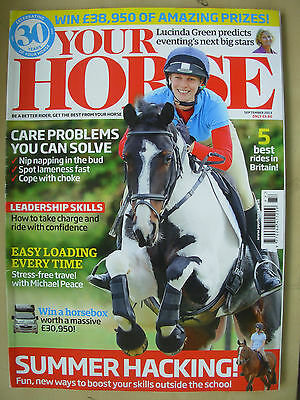 Your Horse Magazine September 2013