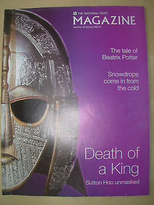 National Trust Magazine Spring 2002 The Tale Of Beatrix Potter - Sutton Hoo