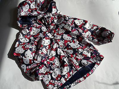 H&M Hello Kitty Tolle leichte Windjacke Gr.116