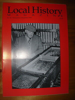 LOCAL HISTORY MAGAZINE No 52 1995 LADY BOWER RESERVOIR FISHERIES TOM PURNELL