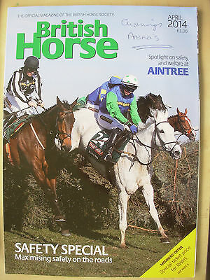 Bhs British Horse Society Official Magazine April 2014