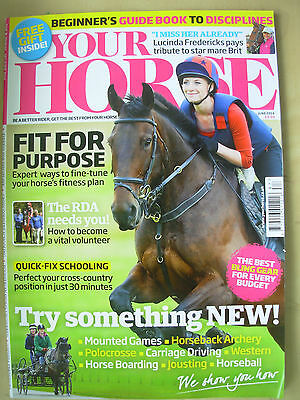Your Horse Magazine June 2014
