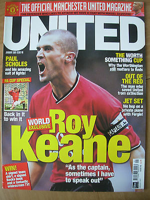 Manchester United Official Magazine Issue 98 January 2001