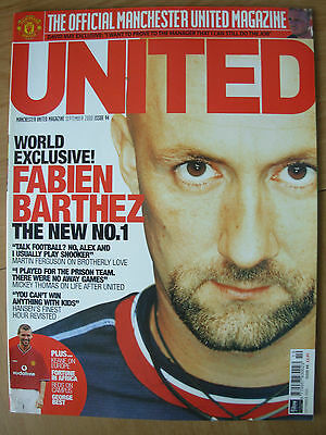 Manchester United Official Magazine Issue 94 September 2000