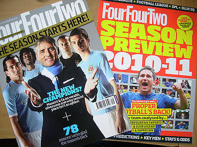 FOUR FOUR TWO MAGAZINE No 194 SEPTEMBER 2010 MANCHESTER CITY NEW CHAMPIONS