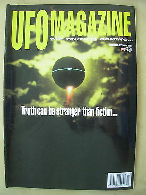 Ufo Magazine - The Truth Is Coming - November / December 2000
