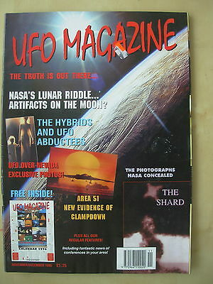 Ufo Magazine - The Truth Is Out There - November / December 1995