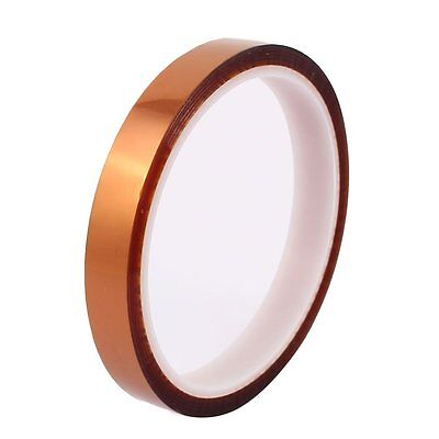 5mm 100ft Kapton Tape BGA High Temperature Heat Resistant Polyimide Gold ☆