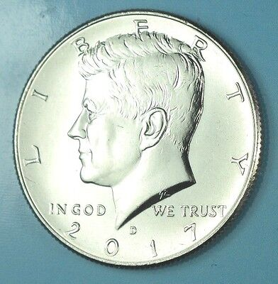 2017-D KENNEDY HALF DOLLAR 50c COIN CLAD UNCIRCULATED READY TO SHIP