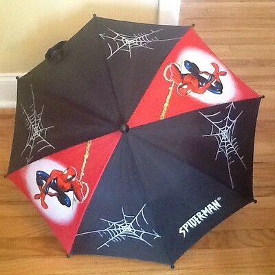 MARVEL AMAZING SPIDER-Man UMBRELLA USED