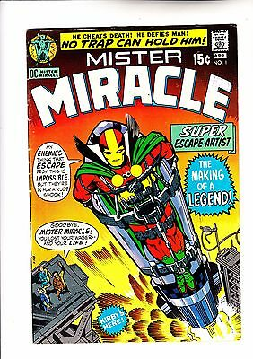 Mister Miracle 1 1st appearance, Jack Kirby