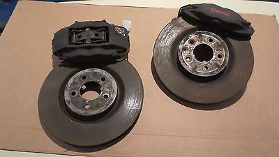 """Ford Mustang Brembo 14"""" Front Disc Brake Kit Calipers Rotors"""