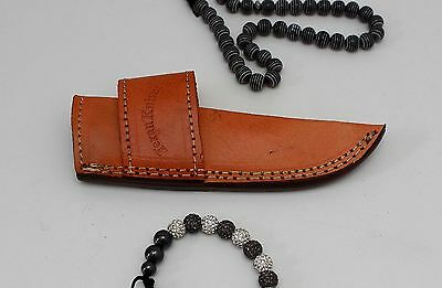 100 % Handmade Real leather Knife sheath cover pouch for all knives custom made