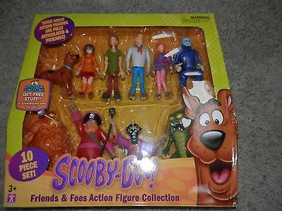 Scooby Doo Monster Set Action Figures  FRED VELMA VOLT Witch Doctor easy carry