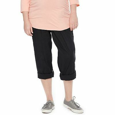 Plus Size Maternity Oh Baby by Motherhood™ Secret Fit Belly™ Convertible Pants