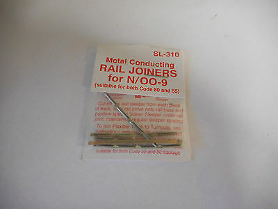 Peco N Scale Code 80/ 1X Pkt Track Joiners  Inickel Silver