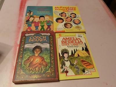 48 Kids BOOK  Chapter Novels Middle Grade Newbery Scholastic First Ed Teacher