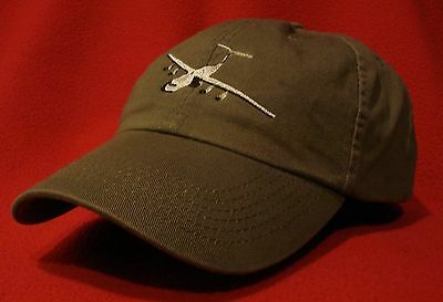 USAF C-141 Lockheed Starlifter ball cap, low-profile embroidered hat OD Green