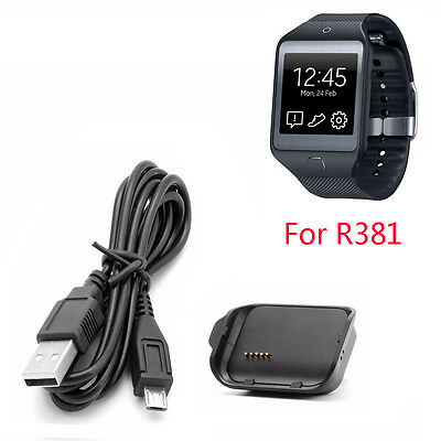 Charging Cradle Dock Charger For Samsung Galaxy Gear 2 Neo Smartwatch SM-R381