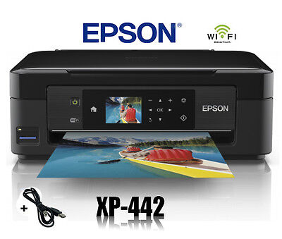 Epson Xp-442 Multifunktions Drucker Scanner Kopierer Wifi Wlan Airprint * Neu *