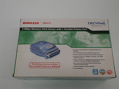 Trendnet Tew-P1P 11Mbps Wireless Parallel Print Server