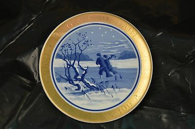 Bing & Grondahl.1895/juleplatten 100 Ar.1995.made In Demark Collector Plate