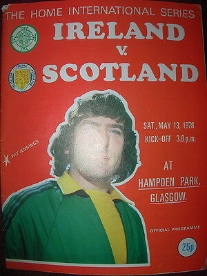 NORTHERN IRELAND v SCOTLAND 1978 HOME INTERNATIONAL AT HAMPDEN PARK