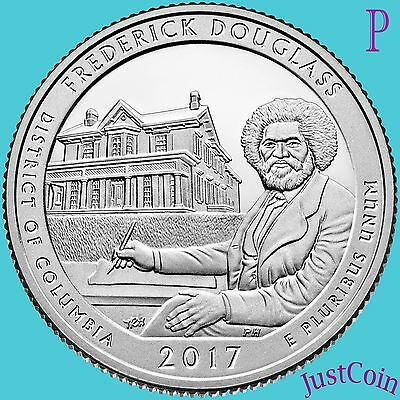 2017-P Frederick Douglas Historic Site (D.c.) Quarter Uncirculated
