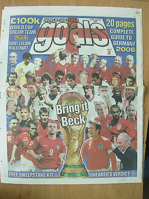 World Cup 2006 Germany - The Sun Newspaper - World Cup Guide And Wallchart