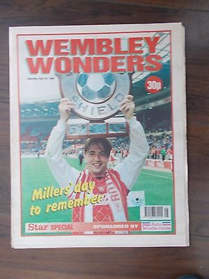 NEWSPAPER STAR SPECIAL APRIL 20th 1996 ROTHERHAM UNITED WIN AT WEMBLEY
