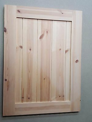 Hand Made Replacement Kitchen Doors Solid Pine Ref: Cabinets S7