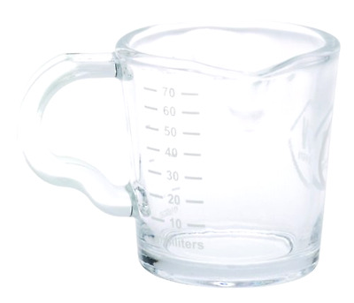 Rattleware 3-Ounce RW Logo Shot Pitcher, Glass - Free 2 Day Shipping