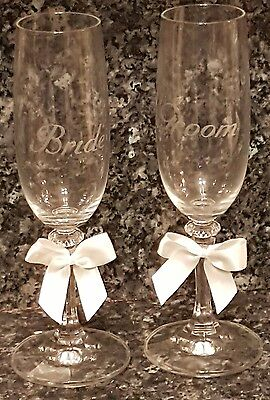 pair toasting champagne glasses bride and groom wedding free postage