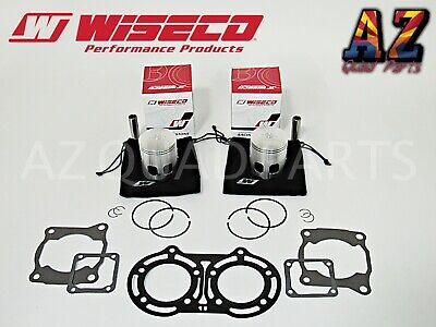 Yamaha Banshee 65.50mm +1.5 Over Wiseco Pro Lite Pistons Piston Set Gaskets Kit