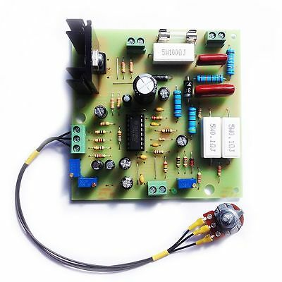 Motor speed regulator without power loss - TDA1085