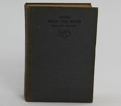 1938 Gone With The Wind, Hardcover, by Margaret Mitchell, Macmillan Company