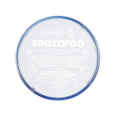 Snazaroo Face Paint 18ml Individual Color, White