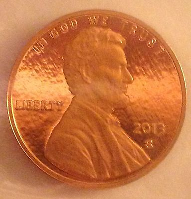 2013-S Lincoln Shield Cent Dcam Gem Proof One Beautiful Coin Look