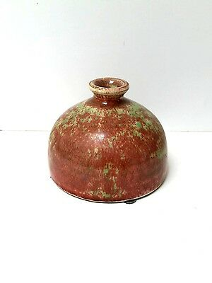 Antique Chinese Peach Bloom Water Dropper Brush Washer